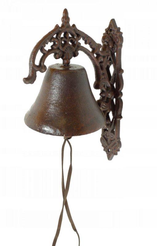 dzwonek żeliwny dekoracyjny