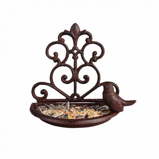 karmnik dla ptaków zeliwny