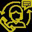 obsługa klienta- ikona