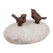 ptaszki na kamieniu
