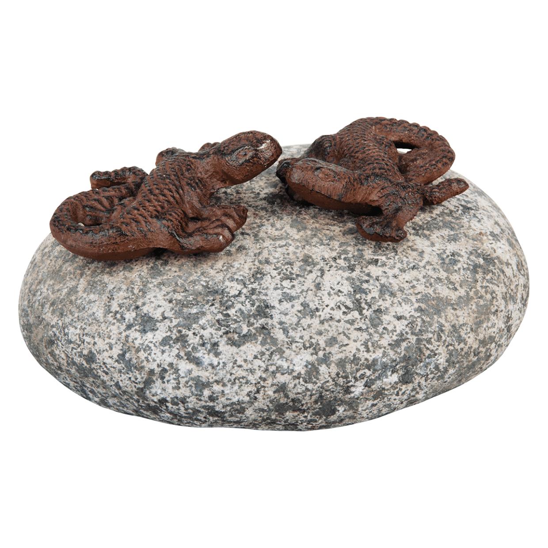 jaszczurki na kamieniu