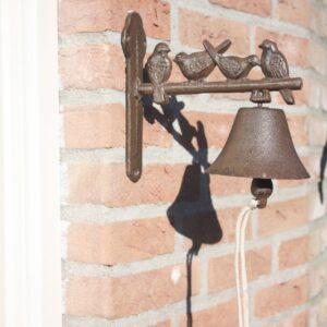 dzwon z ptaszkami