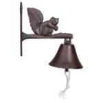 dzwon żeliwny z wiewiórką