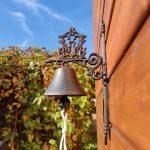 Dzwon z żeliwa z pięknym dźwiękiem