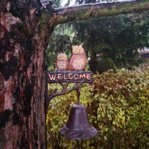 dzwonek welcome sowy