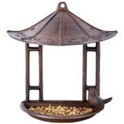 karmnik dla ptaków z daszkiem