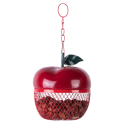 Karmnik dla ptakó w kształcie jabłka
