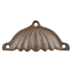 uchwyt meblowy w kstzałcie muszli