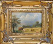 krajobraz- obraz olejny na desce