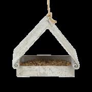 Trójkątny karmnik dla ptaków z żywicy Kraina Dekoracji