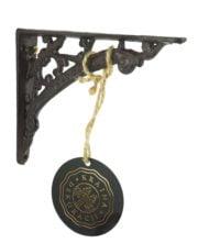 kraina dekoracji żeliwny wspornik