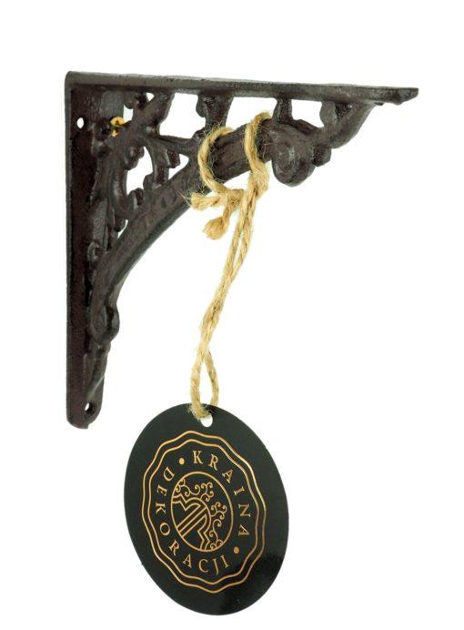 żeliwny wspornik z krainy dekoracji
