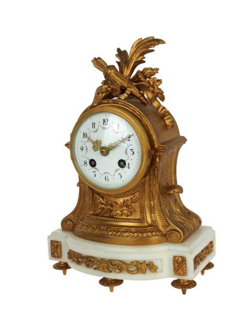 zegar z brązu zabytkowy