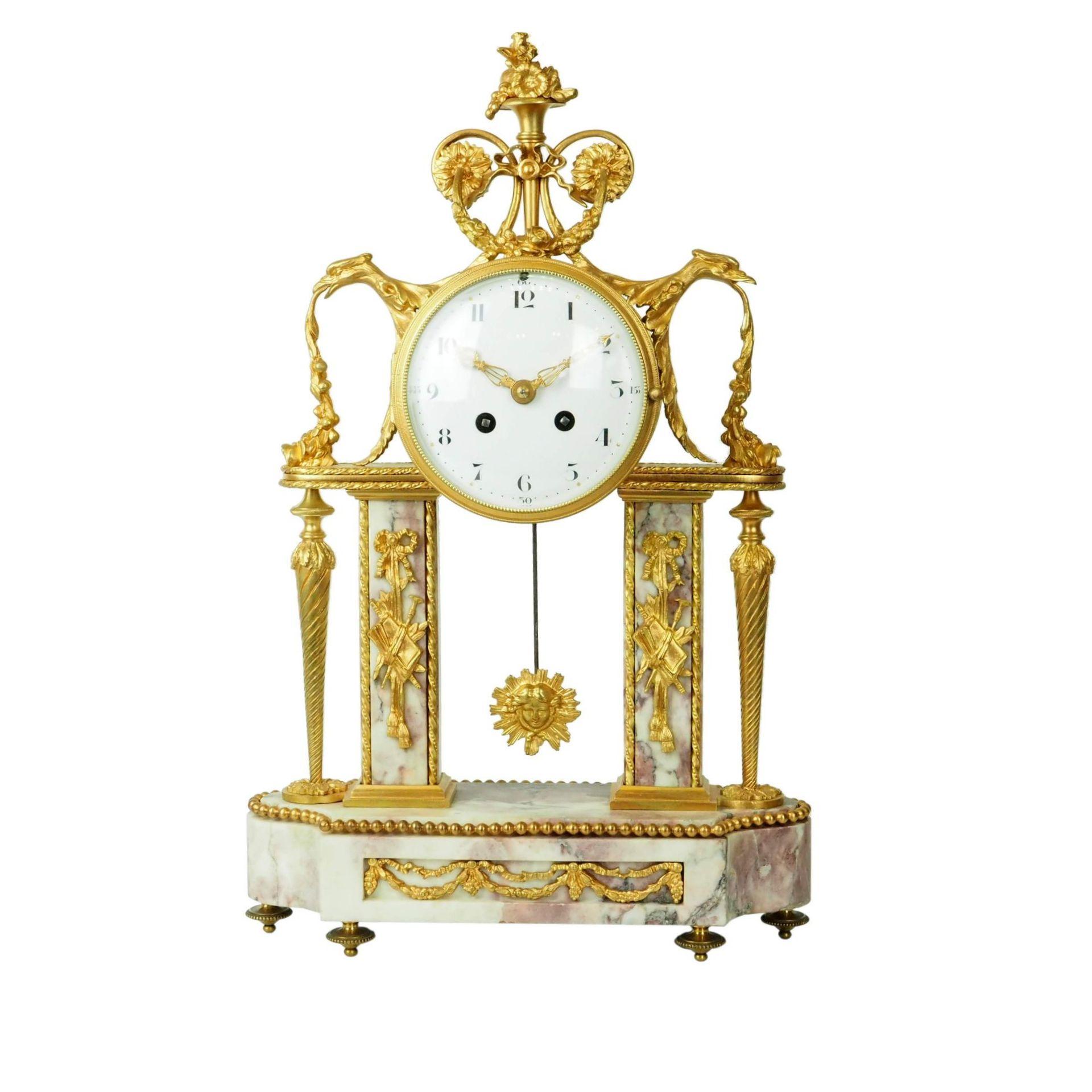 zegar francuski z 1855 roku