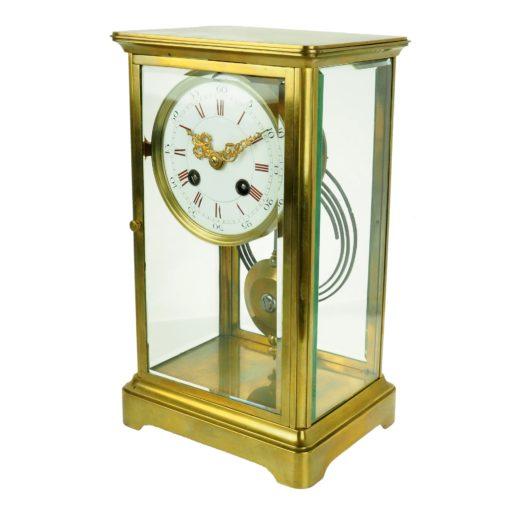 Zegar gabinetowy z końca XIX wieku