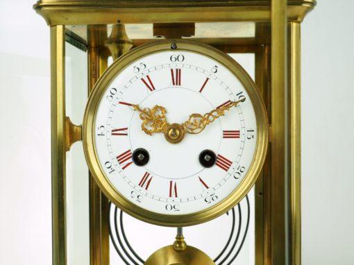 zegar gabinetowy procelanowa tarcza