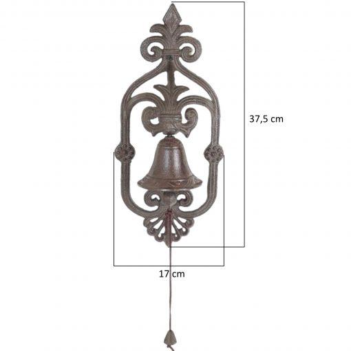 żeliwny dzwonek do powieszenia