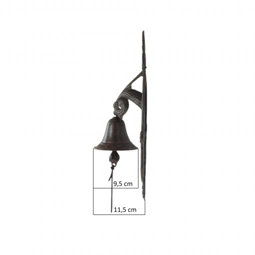 dzwonek z żeliwia