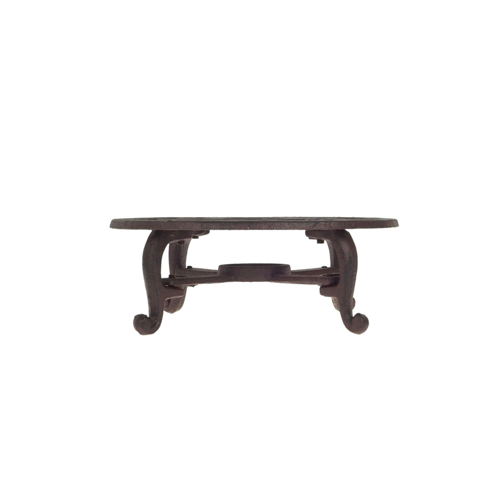 żeliwny podgrzewacz na stół